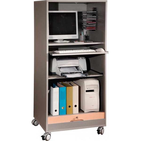 Armoire informatique mobile tivoli lemondedubureau - Bureau armoire informatique ...