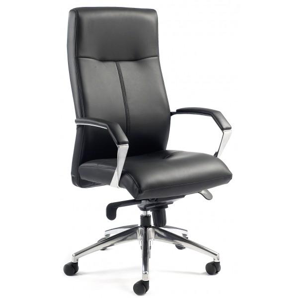 fauteuil de direction en cuir luxor lemondedubureau. Black Bedroom Furniture Sets. Home Design Ideas