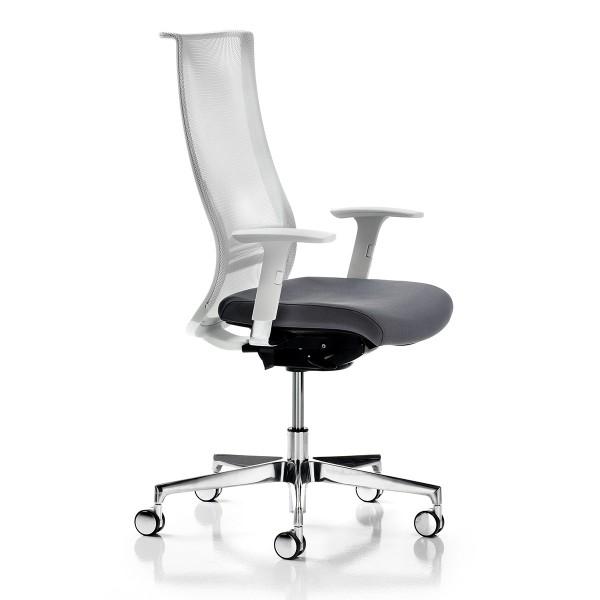 fauteuil de bureau dossier resille anglet lemondedubureau. Black Bedroom Furniture Sets. Home Design Ideas