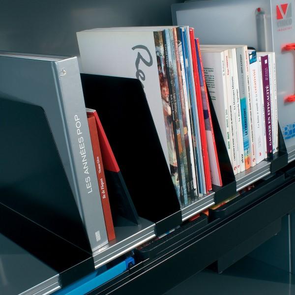 lot de 5 s parateurs verticaux lemondedubureau. Black Bedroom Furniture Sets. Home Design Ideas