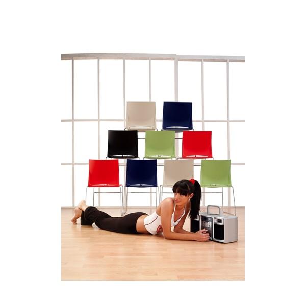 chaise d 39 accueil empilable et design dijon lemondedubureau. Black Bedroom Furniture Sets. Home Design Ideas