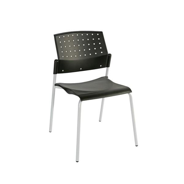 chaise d 39 accueil empilable verone lemondedubureau. Black Bedroom Furniture Sets. Home Design Ideas