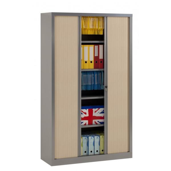 armoire rideaux securit color 3 points lemondedubureau. Black Bedroom Furniture Sets. Home Design Ideas