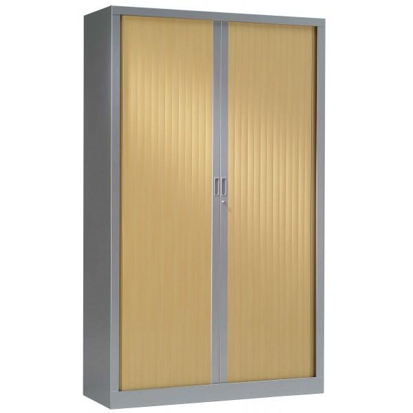 armoire haute rideaux gc bi color lemondedubureau. Black Bedroom Furniture Sets. Home Design Ideas