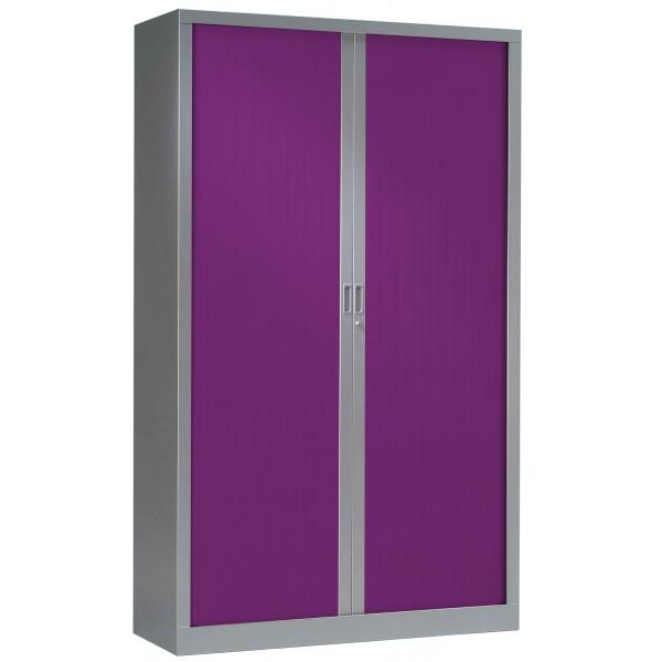 Gc bureau armoire haute rideaux gc bi color for Armoire de bureau design