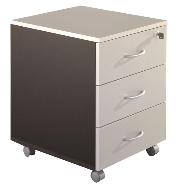caisson de bureau mobile 3 tiroirs acc r30 lemondedubureau. Black Bedroom Furniture Sets. Home Design Ideas