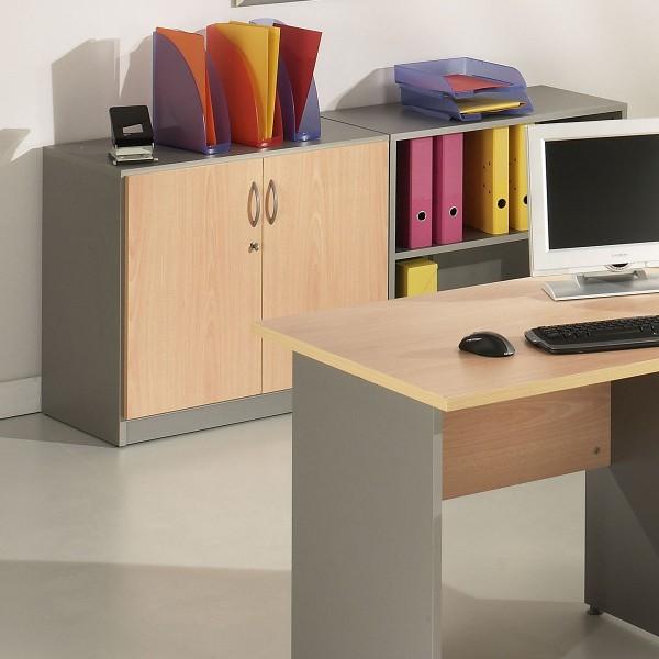 armoire basse de bureau melbourne b lemondedubureau. Black Bedroom Furniture Sets. Home Design Ideas