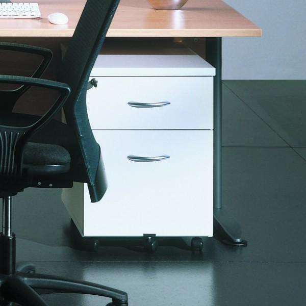 caisson mobile de bureau 2 tiroirs acc r33 lemondedubureau. Black Bedroom Furniture Sets. Home Design Ideas