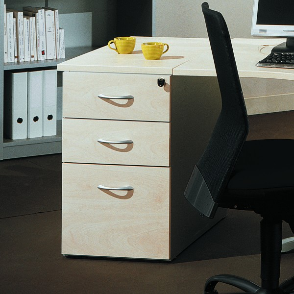 caisson hauteur bureau 3 tiroirs acc r34 lemondedubureau. Black Bedroom Furniture Sets. Home Design Ideas