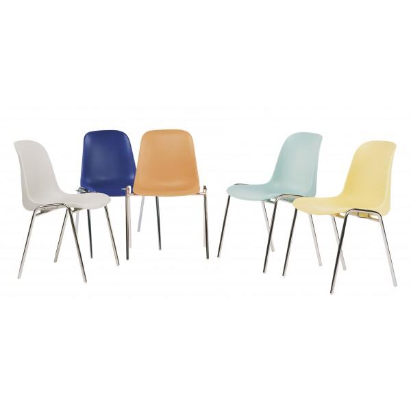 chaise d 39 accueil empilable et accrochable nantes lemondedubureau. Black Bedroom Furniture Sets. Home Design Ideas