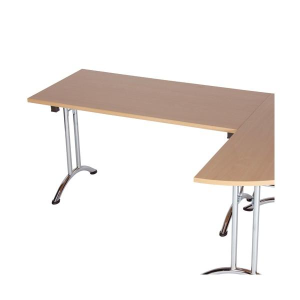 Table pliante empilable dormans lemondedubureau - Table bureau pliante ...