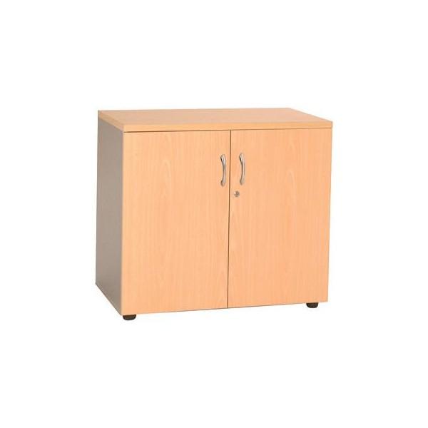 Armoire basse de bureau en bois getafe b lemondedubureau for Armoire de bureau