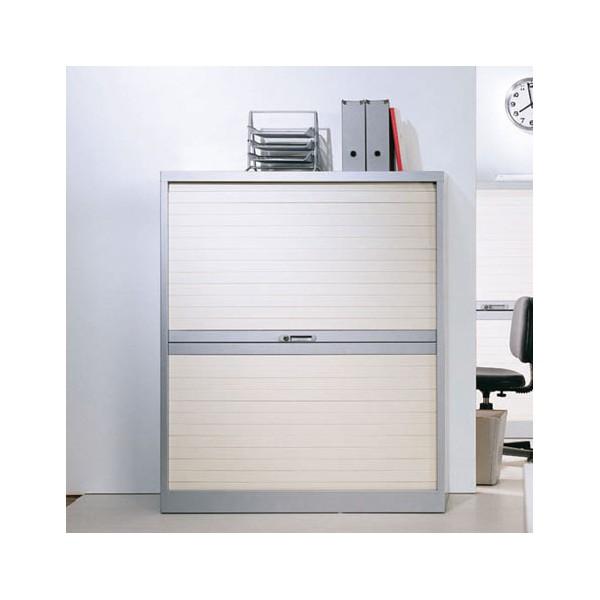 armoire rideaux horizontaux 145cm lemondedubureau. Black Bedroom Furniture Sets. Home Design Ideas