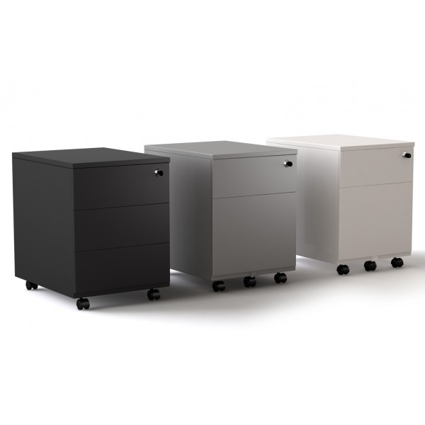 caisson roulant tiroirs lemondedubureau. Black Bedroom Furniture Sets. Home Design Ideas