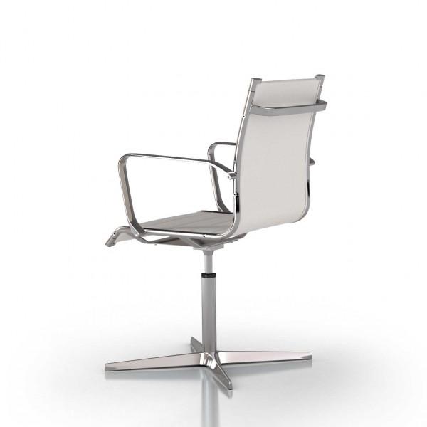 fauteuil et si ge visiteur design en cuir lemondedubureau
