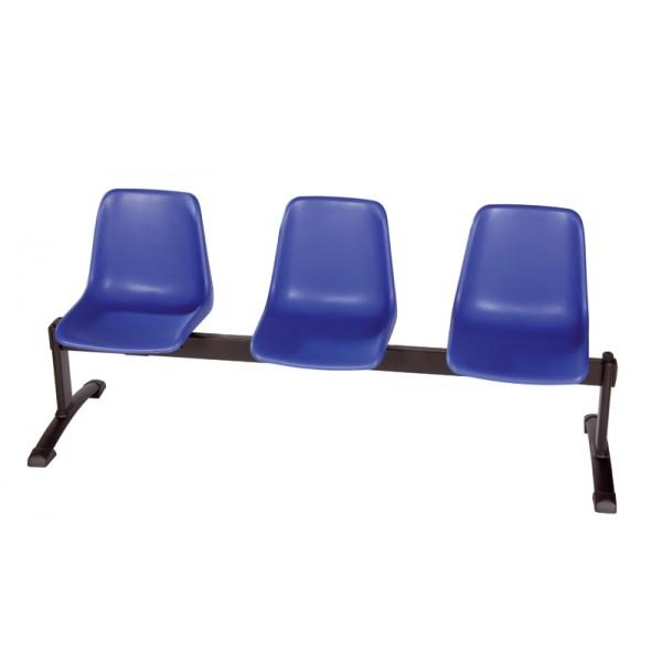 Chaise coque sur poutre Nantes-P