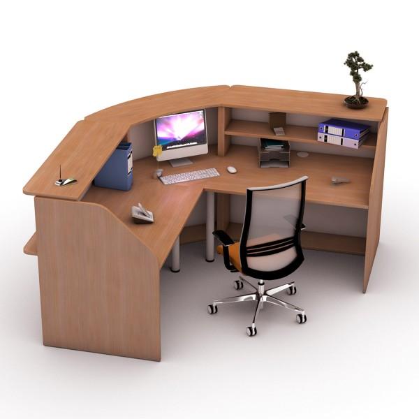module haut d 39 angle 90 banque d 39 accueil lemondedubureau. Black Bedroom Furniture Sets. Home Design Ideas