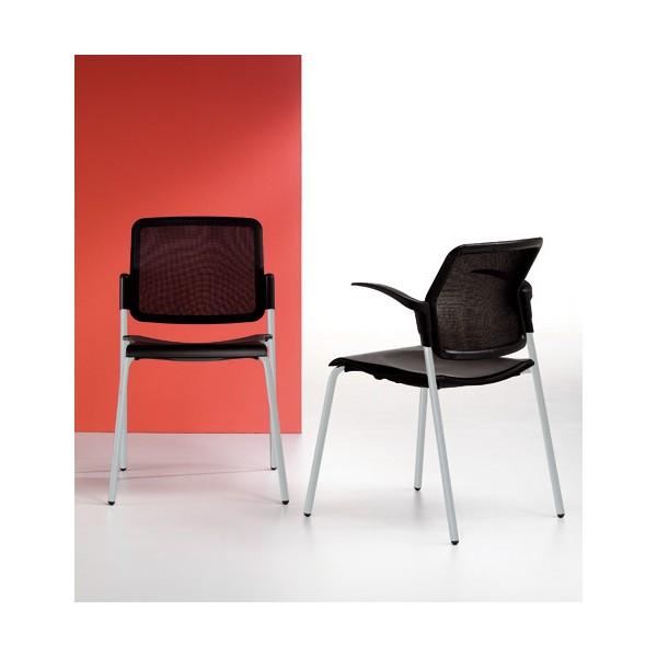chaise empilable accueil r union verone t lemondedubureau. Black Bedroom Furniture Sets. Home Design Ideas