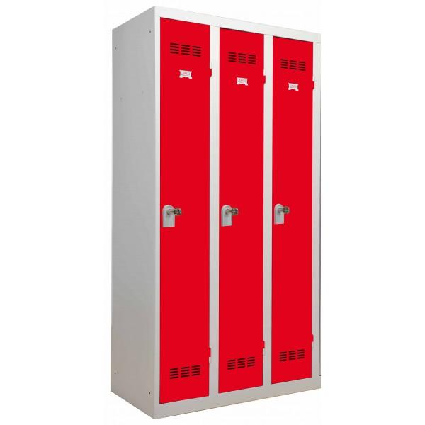 Vestiaire industrie propre 3 portes Burn-3P BURN-3P