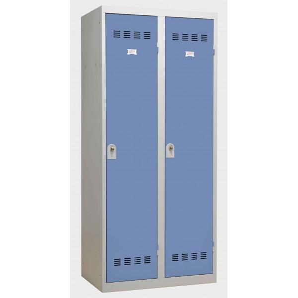 Vestiaire industrie salissante 2 portes Stone-2P STONE-2P