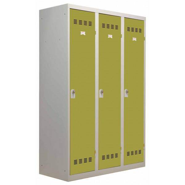 Vestiaire industrie salissante 3 portes Stone-3P STONE-3P