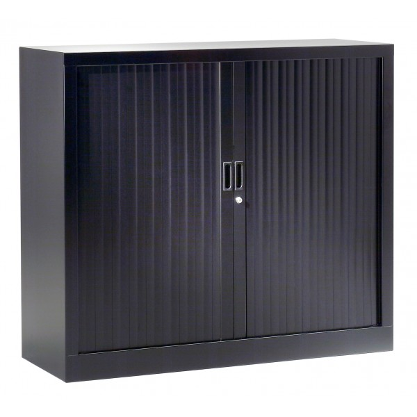 armoire basse rideaux mega uni lemondedubureau. Black Bedroom Furniture Sets. Home Design Ideas