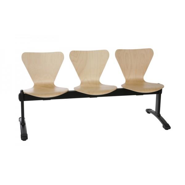 Chaise sur poutre en bois Corogne-H