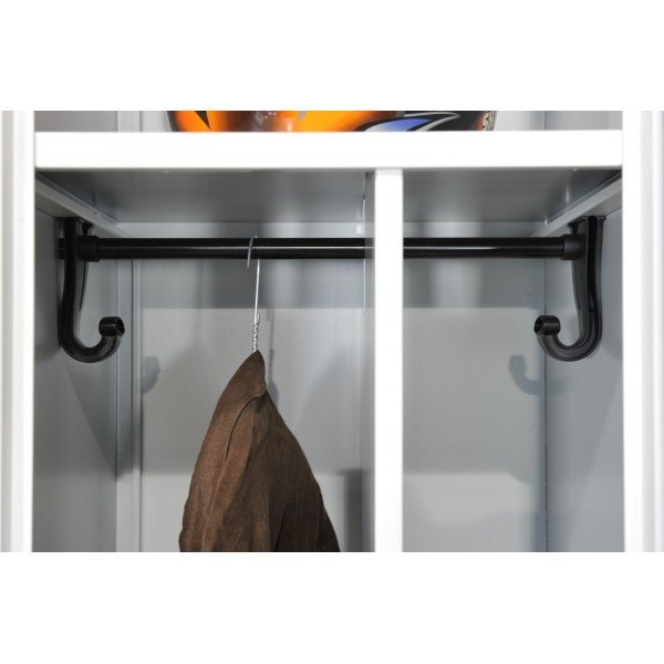 vestiaire industrie salissante 1 porte stone 1p lemondedubureau. Black Bedroom Furniture Sets. Home Design Ideas