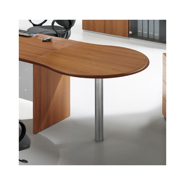 extension de bureau convivalit ronde acc b06 lemondedubureau. Black Bedroom Furniture Sets. Home Design Ideas