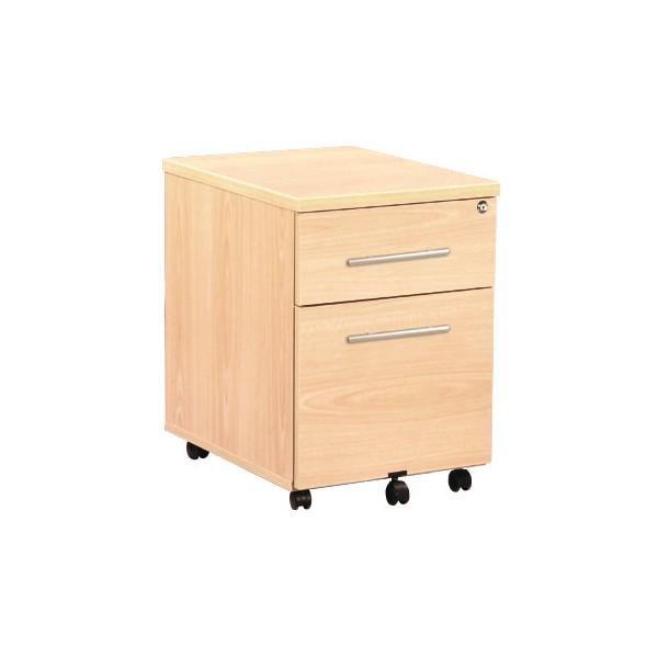 Caisson mobile de bureau 2 tiroirs ACC-R42