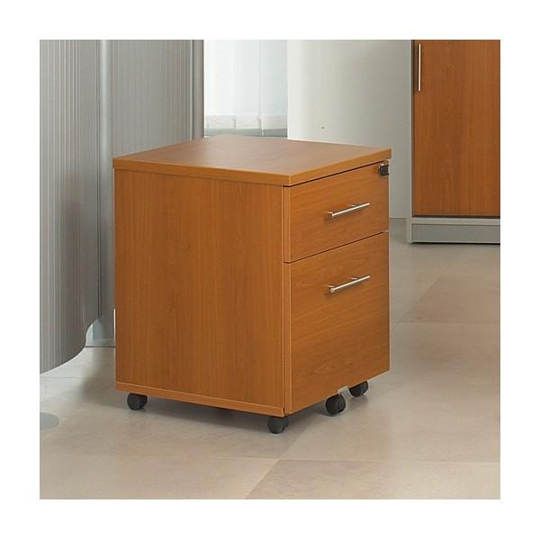 caisson de bureau mobile 2 tiroirs acc r24 lemondedubureau. Black Bedroom Furniture Sets. Home Design Ideas