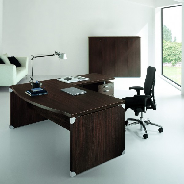 Bureau arque en bois Boston XTIME-S12