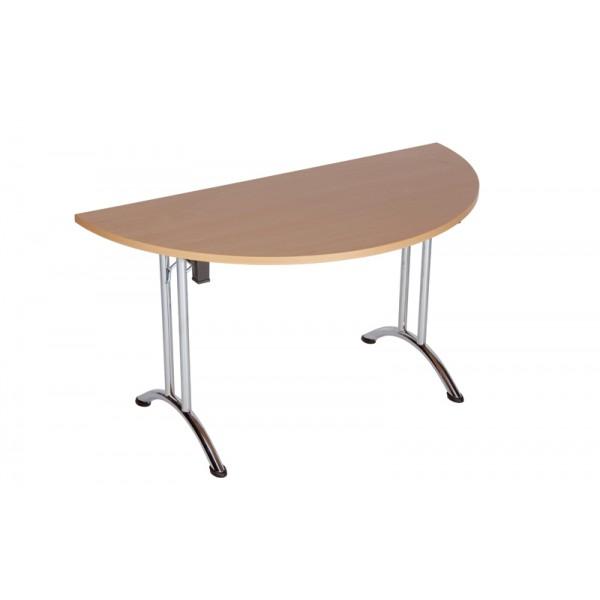 Table pliante demi-ronde Dormans-DR