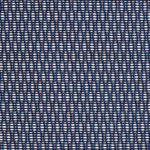 Tissu résille bleu